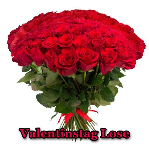 Valentinstag Lose