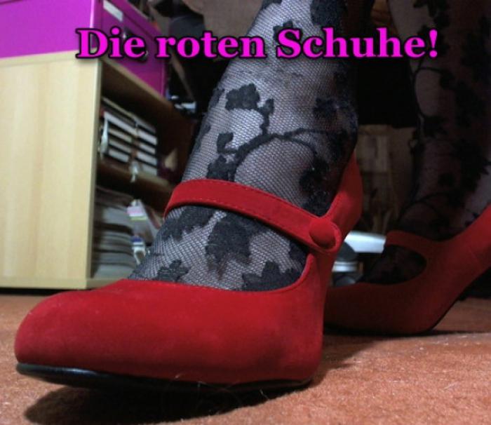 Rote Schuhe!