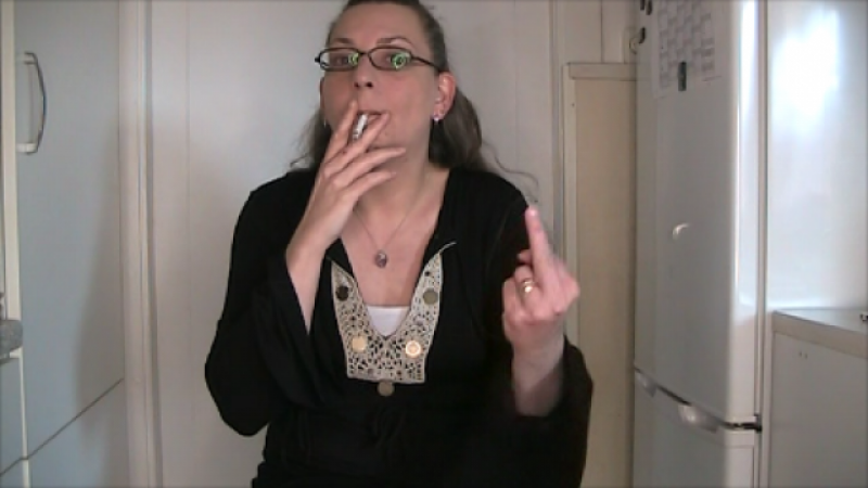 Ein Rauchclip!